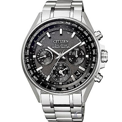 CITIZEN GPS 衛星對時鈦金屬限量腕錶(CC4000-59E)44mm