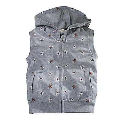 星星印花連帽背心外套 k60682 魔法Baby