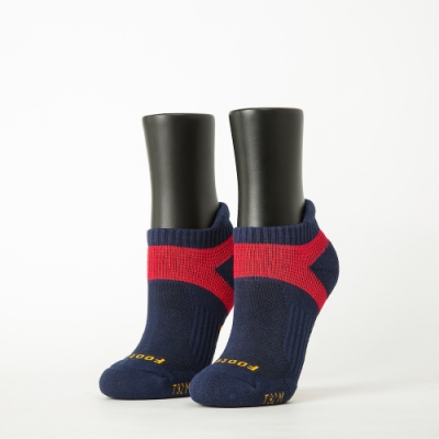 Footer除臭襪-輕壓力足弓船短襪-六雙入(黑*2+藍*2+紫*2)