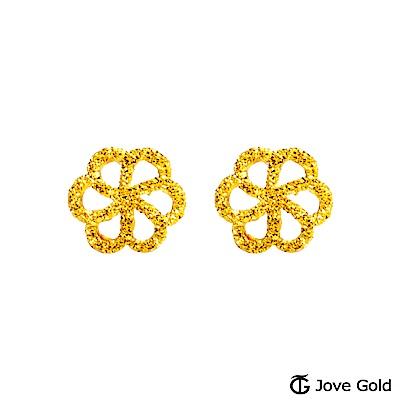 Jove gold 煙花黃金耳環