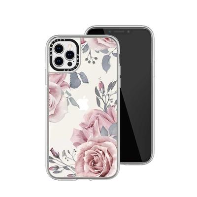 Casetify iPhone 12/12 Pro 輕量耐衝擊保護殼-東方玫瑰