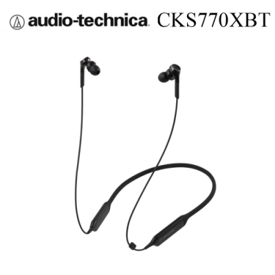 鐵三角 ATH-CKS770XBT 繞頸式入耳式耳機 藍芽重低音 7HR續航 3色 可選