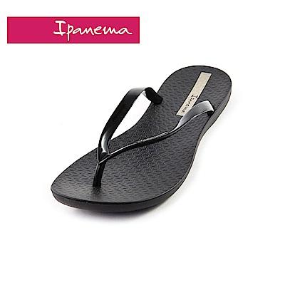 IPANEMA WAVE系列 森巴舞曲夾腳拖鞋(女款)-黑色