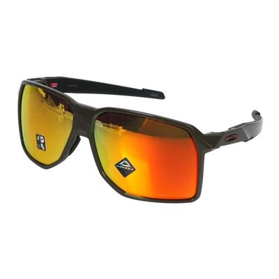 OAKLEY PORTAL 偏光太陽眼鏡-附鼻墊- 慢跑 抗UV OAK-OO9446-0362 深軍綠紅