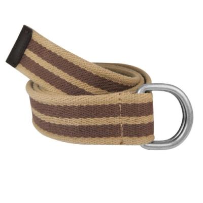 CH-BELT雙扣環純棉織帶休閒運動皮帶腰帶