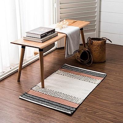 hoi! 帕特爾印度手工編織地毯-暖陽粉-120x180cm (H014279096)