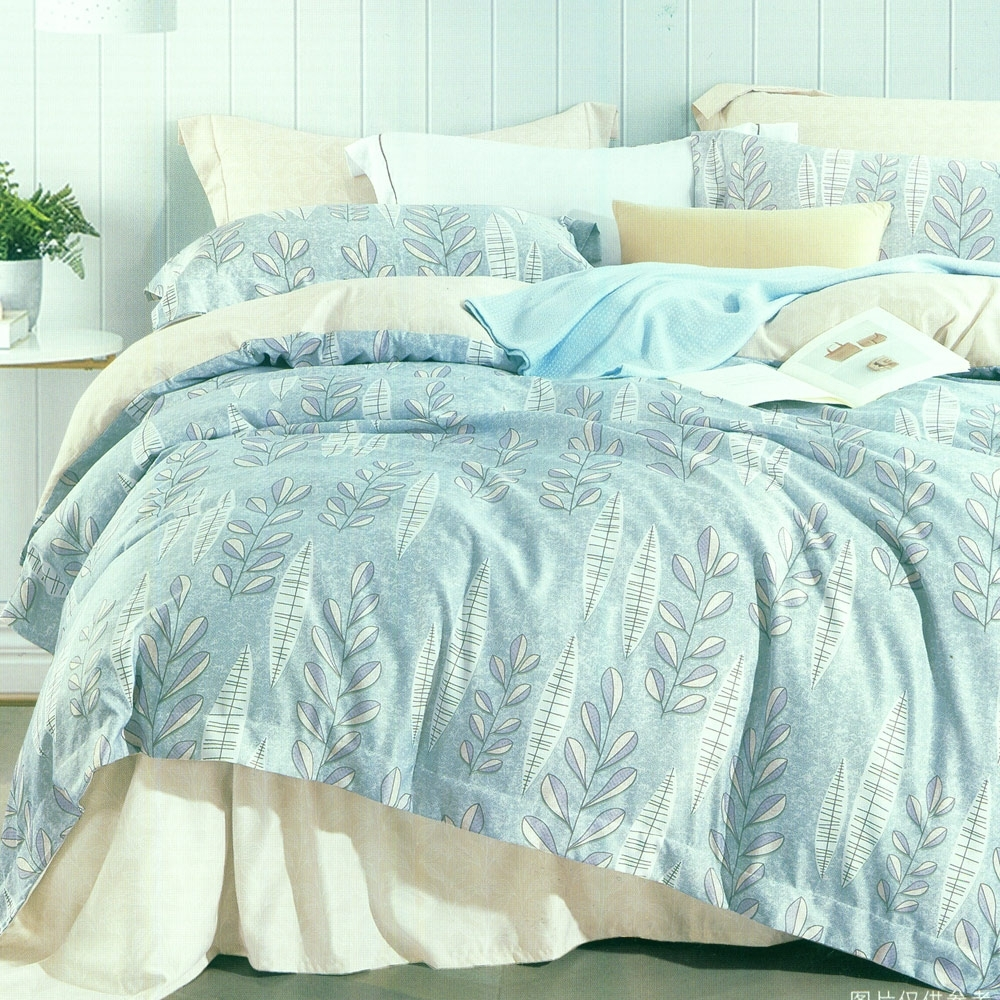 La Lune 裸睡親膚科技天絲雙人床包枕套3件組 洛亞的日記
