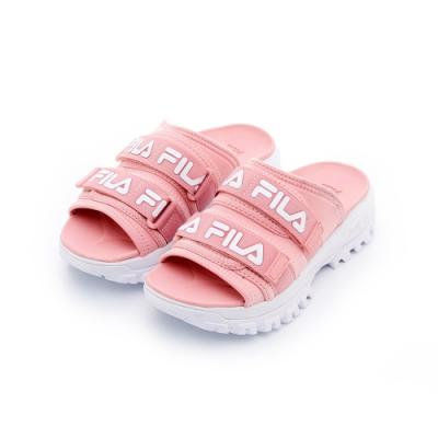 FILA 女拖鞋-粉 5-S630T-661