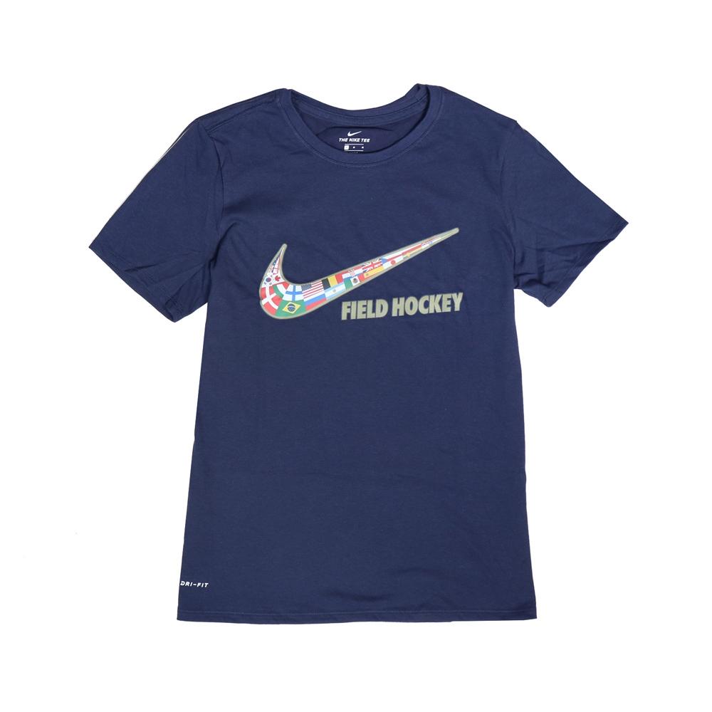 Nike T恤 Field Hockey Tee 女款 運動休閒 吸濕排汗 DRI-FIT 圓領 藍 彩 561423419FH05