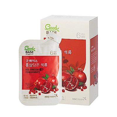 【正官庄】高麗蔘紅石榴飲(50mlX10入/盒)
