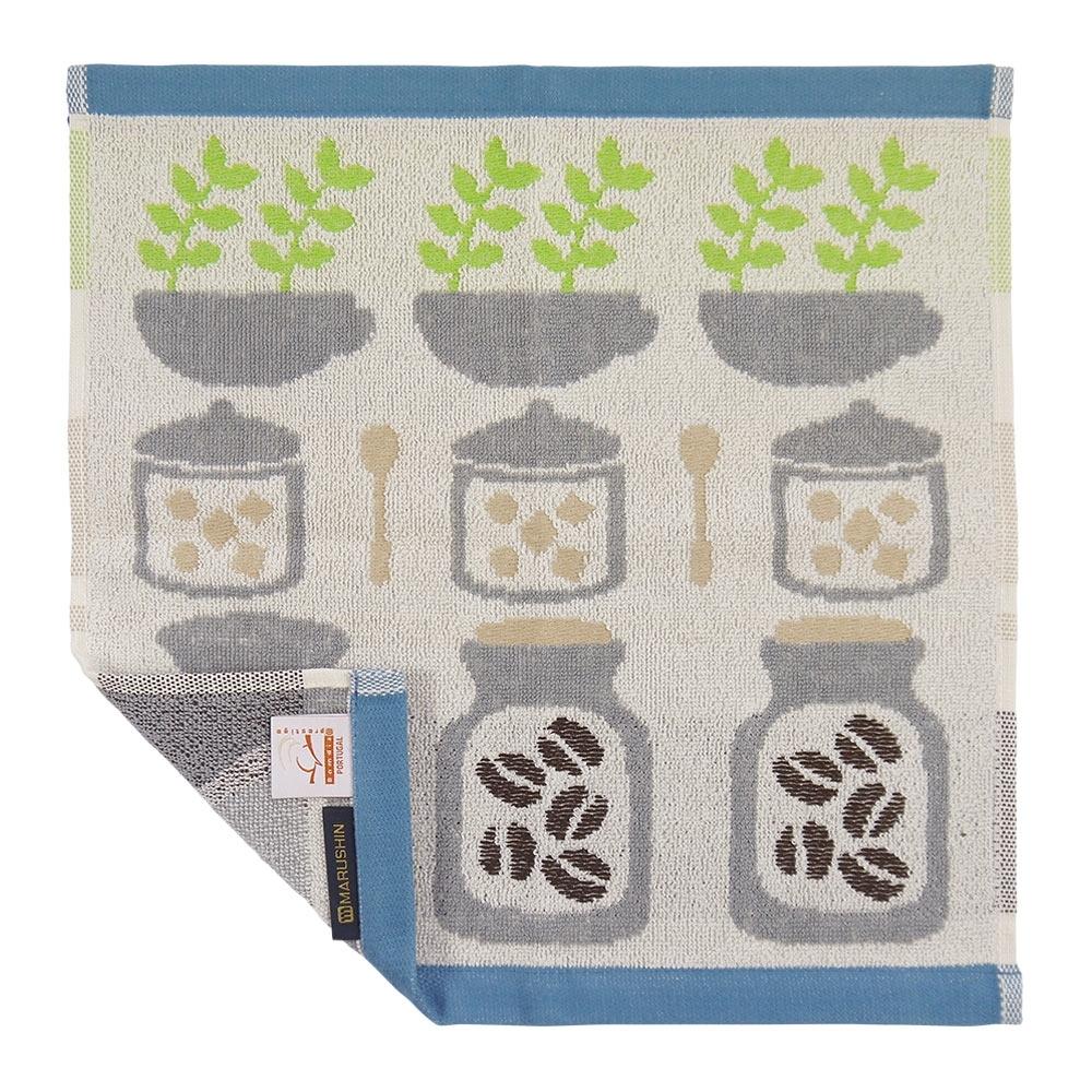 日本丸真 葡萄牙製創意北歐洗臉巾-咖啡豆