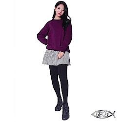 5B2F 五餅二魚 】山形紋裙襬長褲(加厚內磨毛內搭褲)