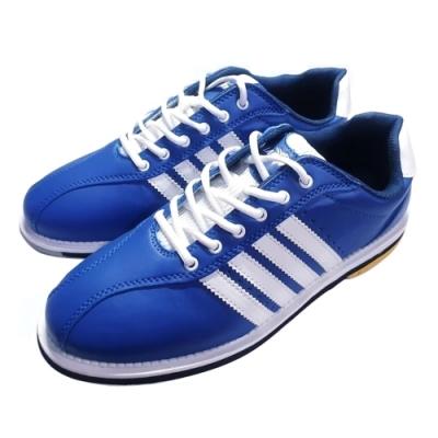 【DJ80嚴選】LANEWOLF 新式樣2.0仿真皮男用高級保齡球鞋-右手鞋(藍色)