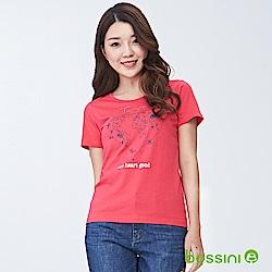 bossini女裝-印花短袖T恤08霓虹