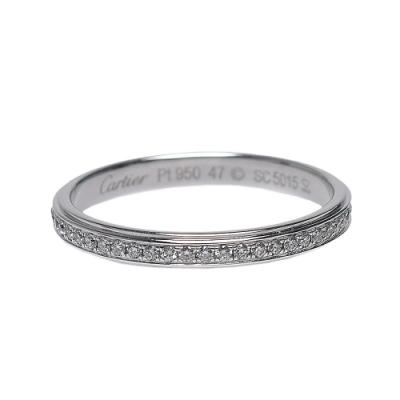 Cartier 經典造型鑽石線戒