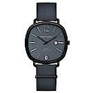 Hush Puppies六十週年紀念腕錶 - 灰藍 / 43x43mm