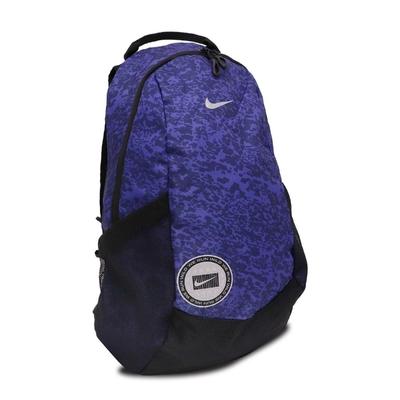 Nike 後背包 Jogging Backpack 男款 運動休閒 外出 輕便 雙肩背 筆電夾層 藍 黑 N0003590960NS