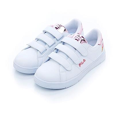 FILA #水果蘇打 潮流復古絆帶鞋-粉紅 5-C605S-510