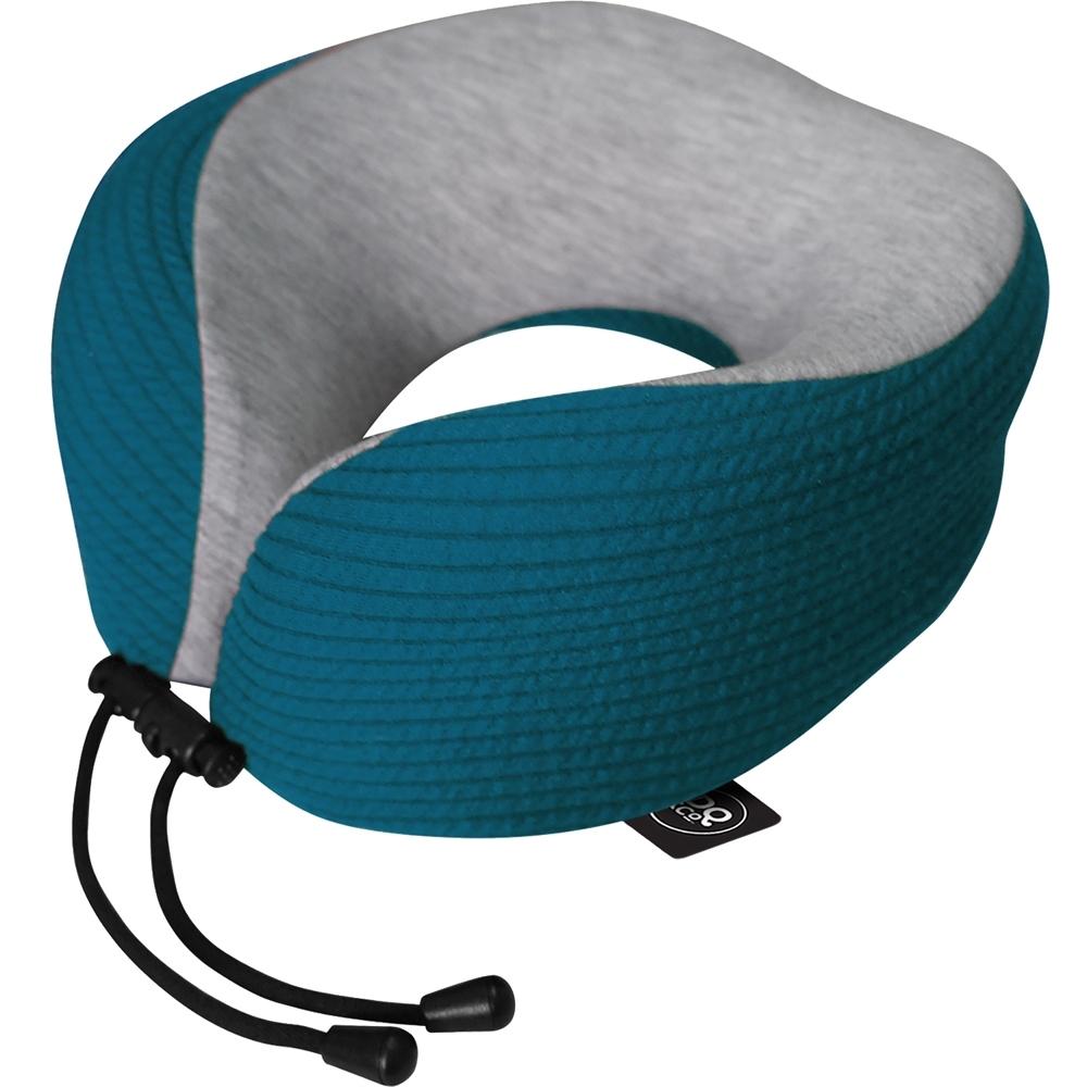 《DQ》舒適U型護頸記憶枕(條紋藍)