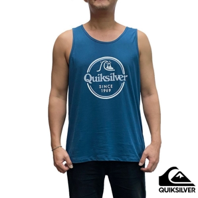 【QUIKSILVER】WORDS REMAIN TANK 背心 藍