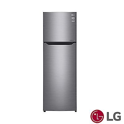 [限時優惠] LG樂金 253L 一級能效直驅變頻上下門冰箱(精緻銀)GN-L307SV