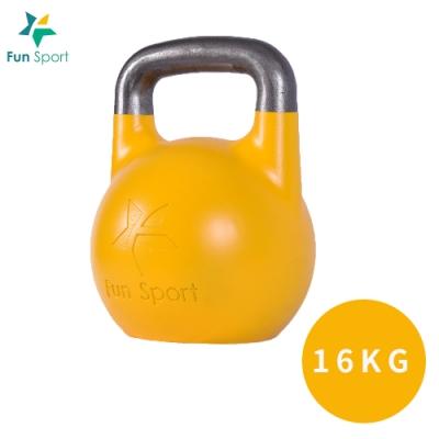 Fun Sport 競技壺鈴 kettlebell-16kg(黃)
