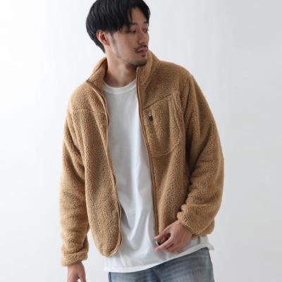 刷毛立領夾克外套布勞森外套(5色) -ZIP日本男裝