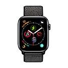 Apple Watch Series 4(GPS+網路)44mm太空灰鋁金屬錶殼+黑色錶環