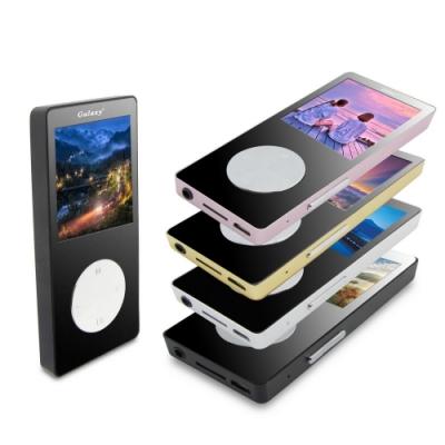 【DW-B1861A】Galaxy水漾款彩色MP4隨身聽(內建16GB)(送5好禮)