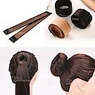 kiret 海綿寶寶假髮圈包頭/盤髮器+贈橡皮筋髮圈