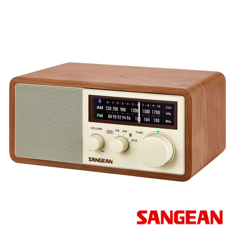 SANGEAN 藍芽二波段復古式收音機 WR-16