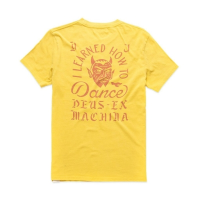 Deus Ex Machina  Dancing Devil Tee T恤-(黃)