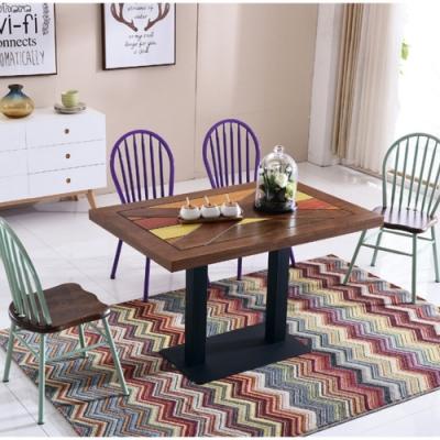 MUNA  B396型4尺餐桌/休閒桌(共兩色) 120X80X75cm