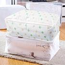 E-dot 透明印花棉被整理收納袋(二款選)