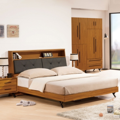 H&D 安德里6尺床頭式床台
