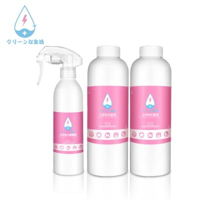 立淨安 抗菌清潔液 250ml*1+500ml*2 (腸病毒/流感/洗手消毒液)
