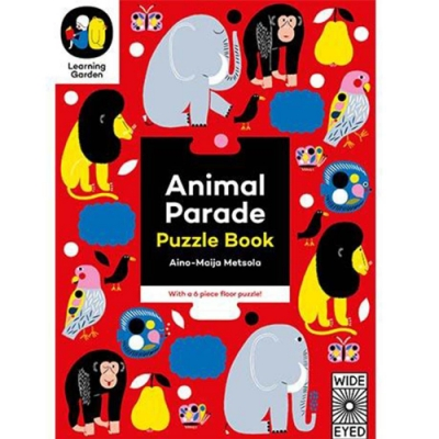 Animal Parade:Puzzle Book 動物拼圖書