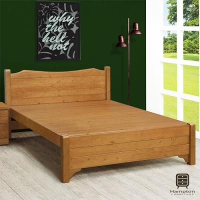 Hampton海洛伊絲5.2尺雙人床架-156x201.6x95.4cm