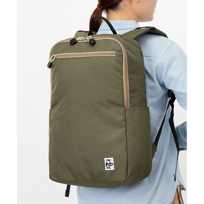 CHUMS Recycle Useful Day Pack 男女 後背包 卡其綠-CH603115M022