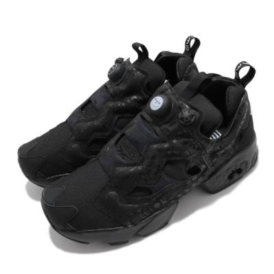 Reebok 休閒鞋 Instapump Fury 運動 男女鞋 經典款 充氣科技 舒適 避震 情侶穿搭 黑 白 FY3076
