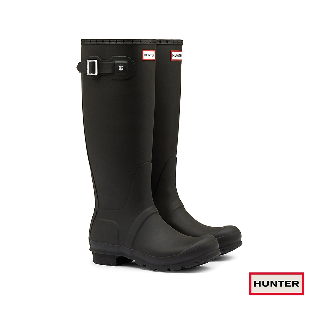 HUNTER - 女鞋 - Original霧面長靴 - 黑