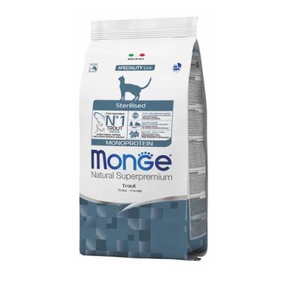 Monge瑪恩吉 天然全能 結紮貓糧(鱒魚)400g 2包