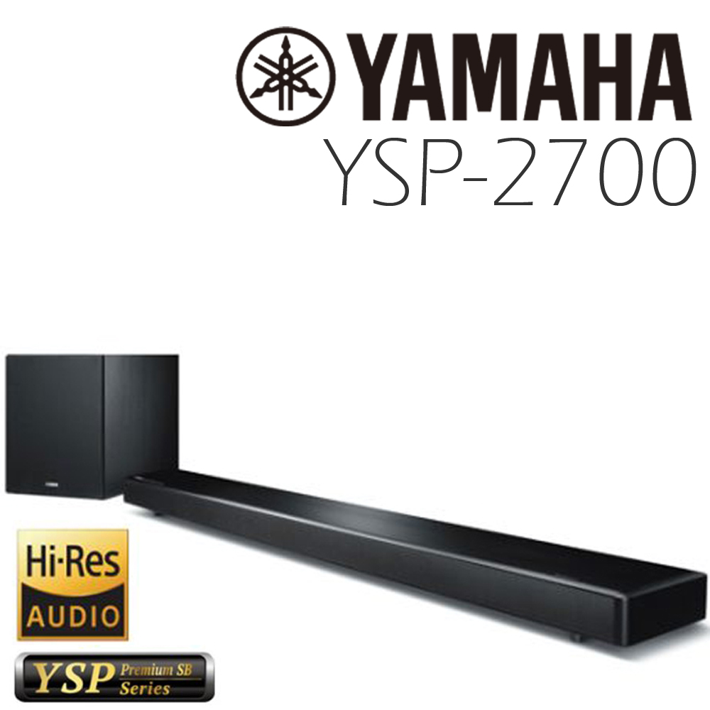 YAMAHA YSP-2700 家庭劇院 無線 SOUNDBAR