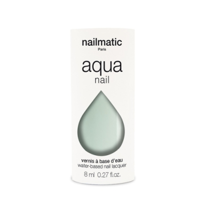 法國 Nailmatic 水系列經典指甲油 - Lee 清雅綠 - 8ml