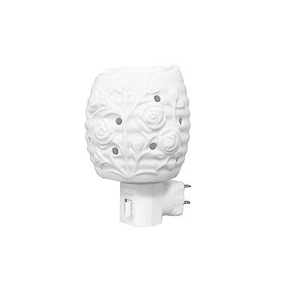KINYO 陶瓷薰香小夜燈/壁燈(NL-219)可搭配精油