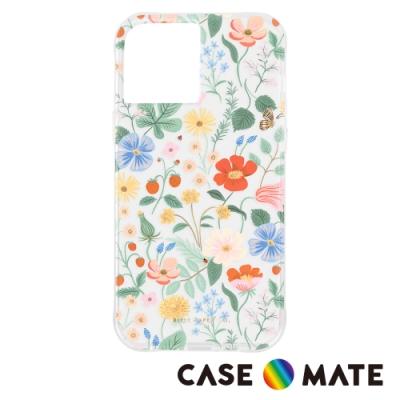 美國 Case-Mate x Rifle Paper Co. 限量聯名款 iPhone 12 Pro Max 防摔抗菌手機保護殼 - 草莓園
