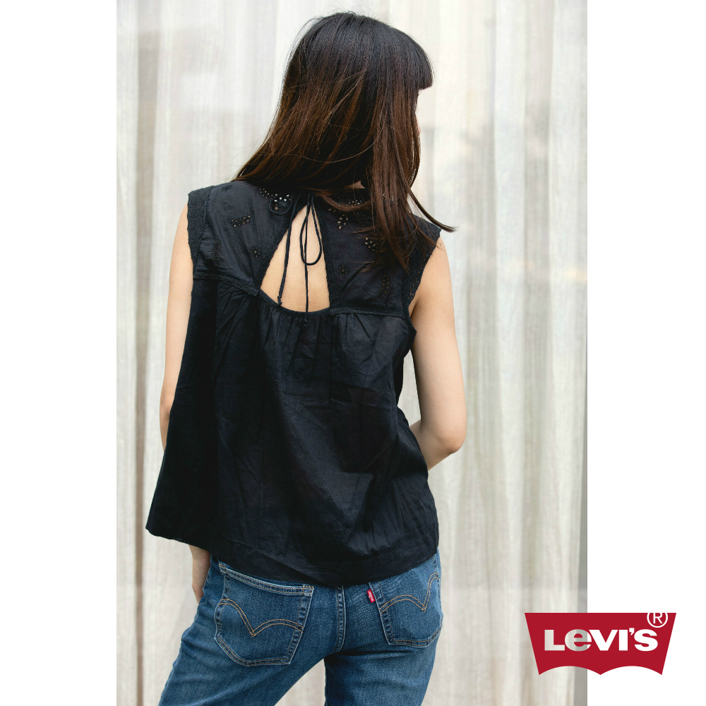 Levis 背心 女裝 刺繡