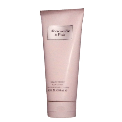 Abercrombie & Fitch 同名經典女性淡香精身體乳 200ml無外盒包裝