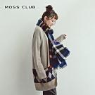 【MOSS CLUB】圖騰造型袖-針織衫(二色)