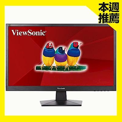 ViewSonic VA2407H 24型 TN 時尚簡約電腦螢幕